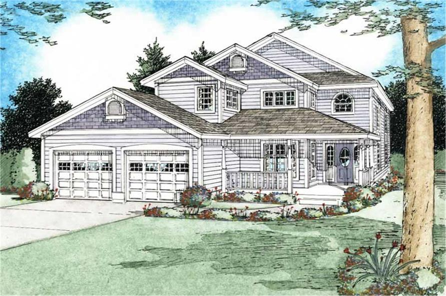 Main image for house plan # 13110