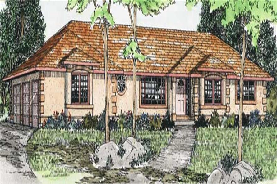 Main image for house plan # 13096