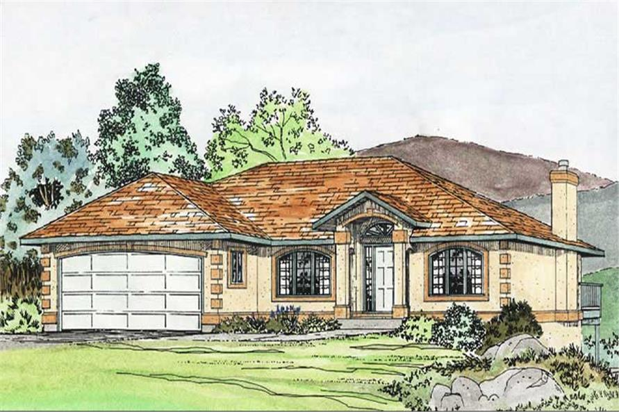 Main image for house plan # 13097