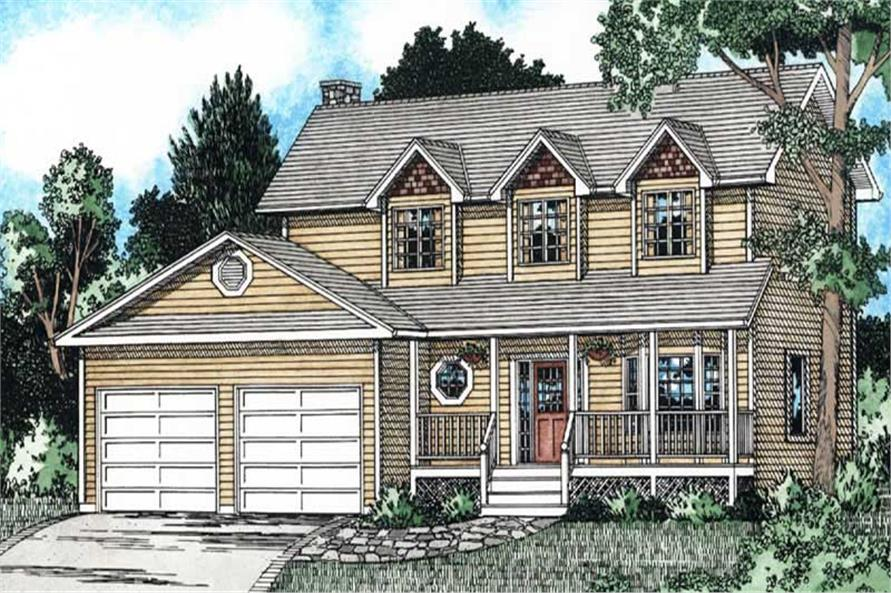 Main image for house plan # 13098