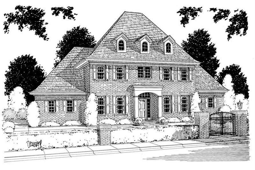 Main image for house plan # 5360