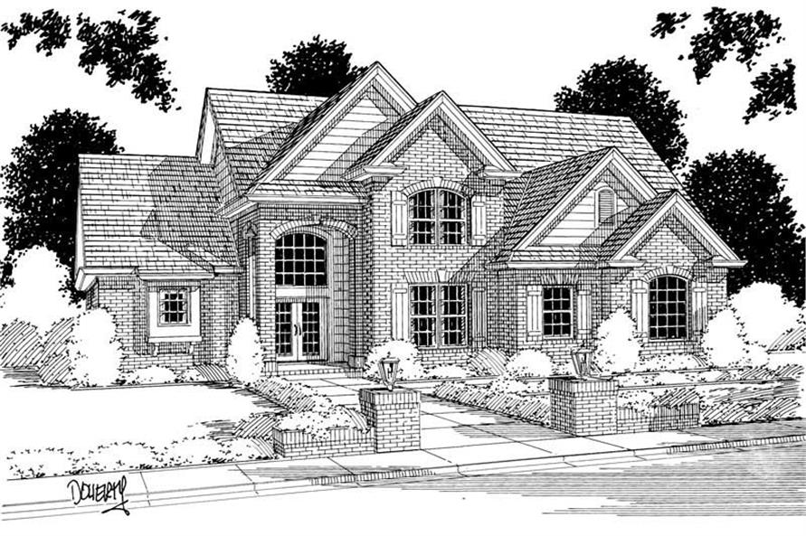 Main image for house plan # 5364