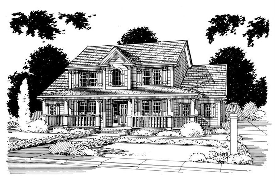 Main image for house plan # 5367