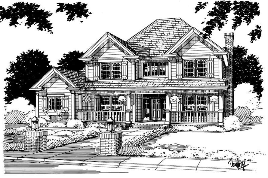 Main image for house plan # 5378