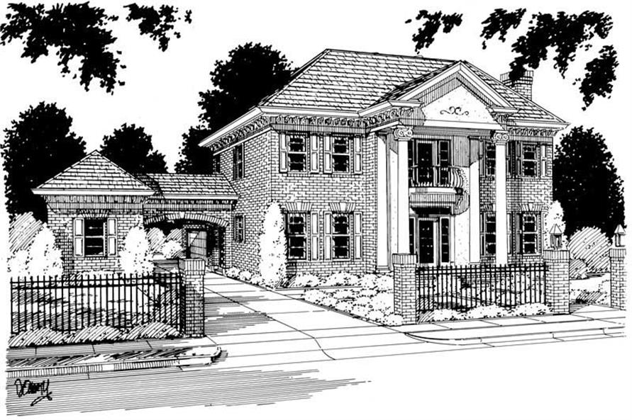 Main image for house plan # 5374
