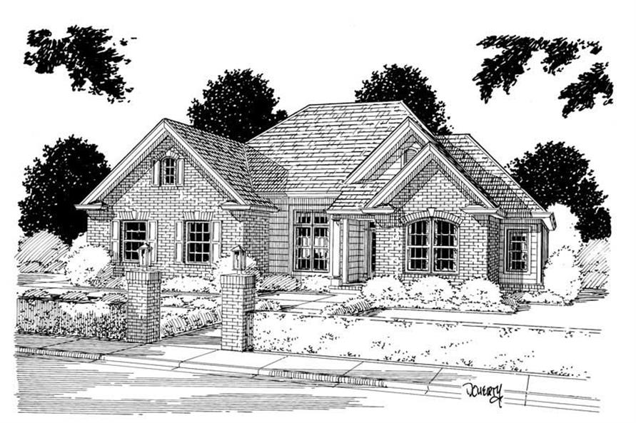 Main image for house plan # 5368