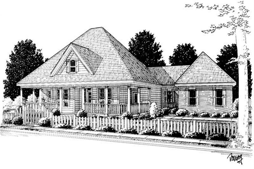 Main image for house plan # 5873