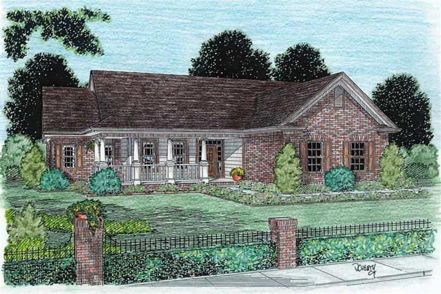 Main image for house plan # 5348