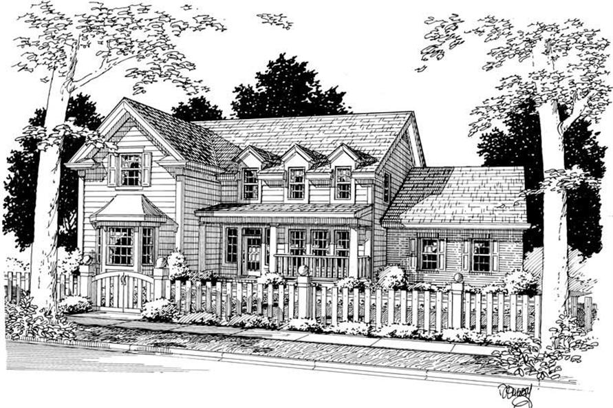 Main image for house plan # 5384