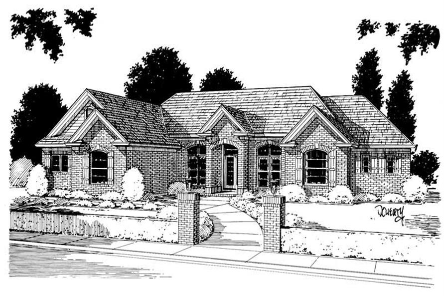 Main image for house plan # 5358