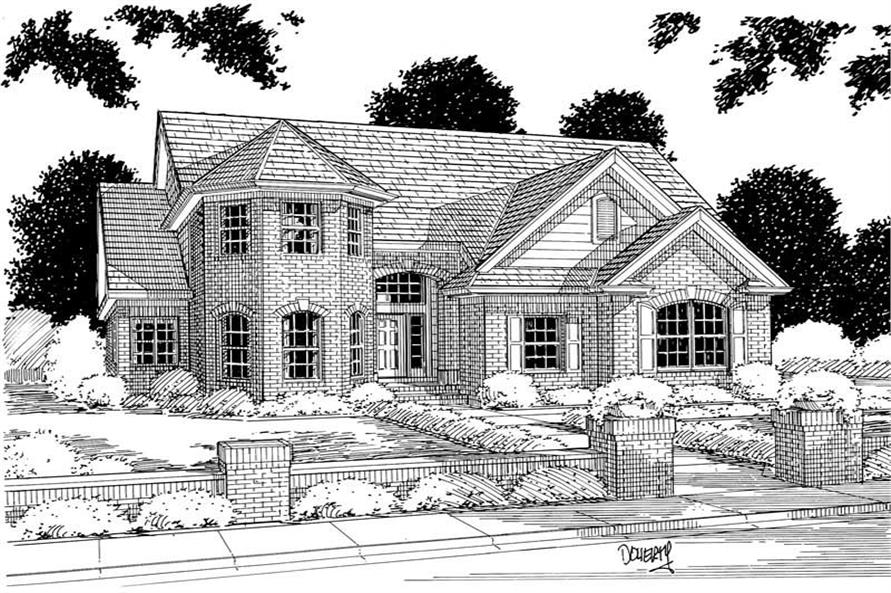 Main image for house plan # 5352