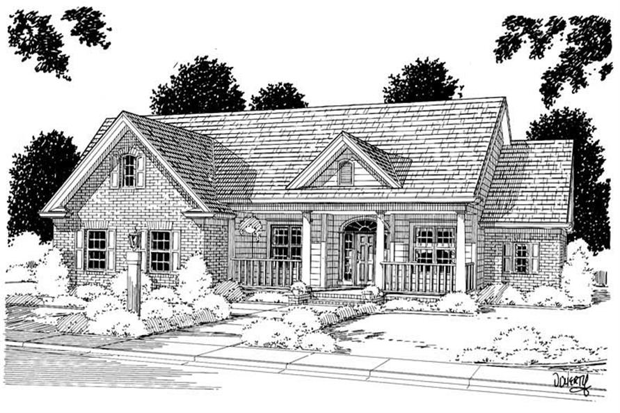 Main image for house plan # 5355