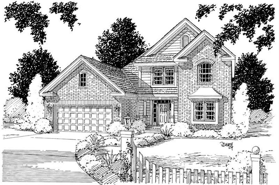 Main image for house plan # 5335