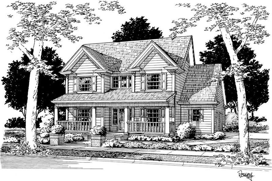 Main image for house plan # 5387