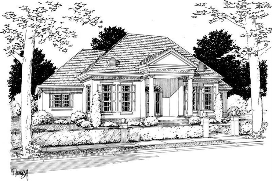 Main image for house plan # 5404