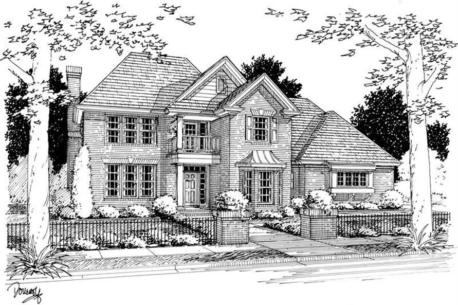 Main image for house plan # 5412