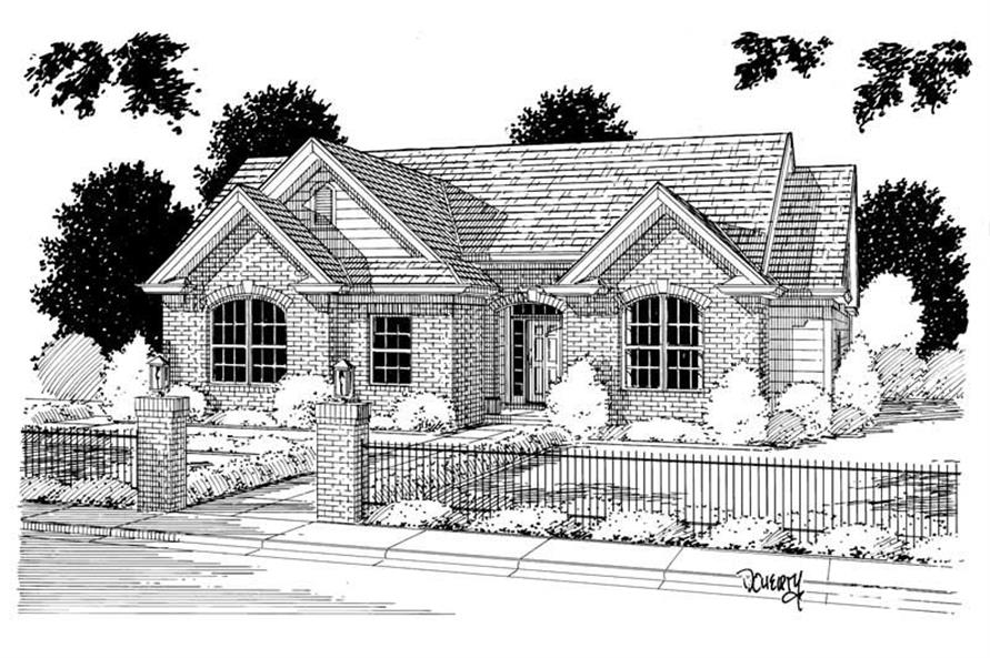 Main image for house plan # 5363