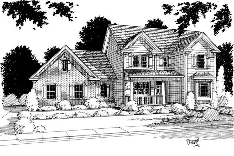 Main image for house plan # 5379