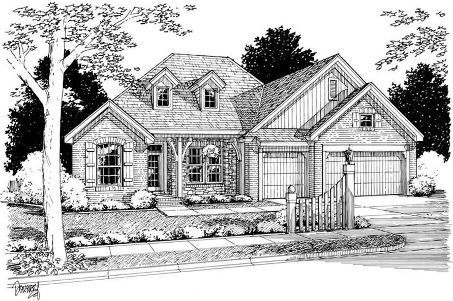 Main image for house plan # 5395