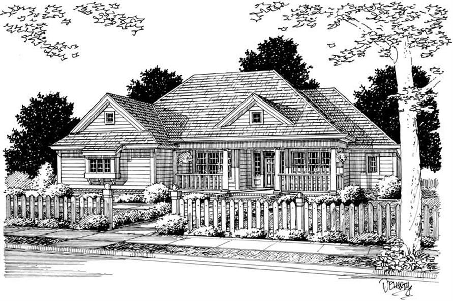 Main image for house plan # 5416