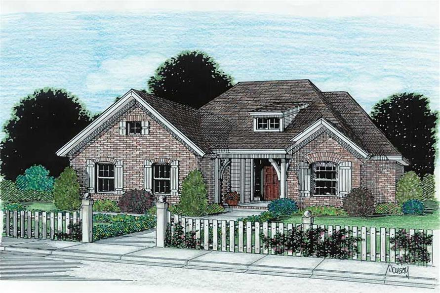 Main image for house plan # 5380
