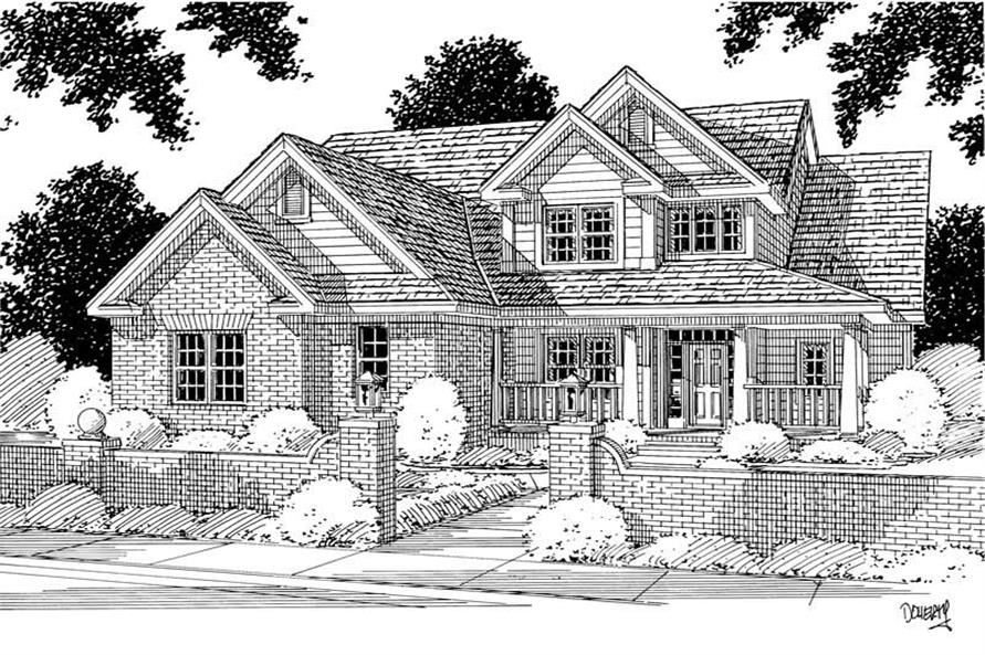 Main image for house plan # 5339