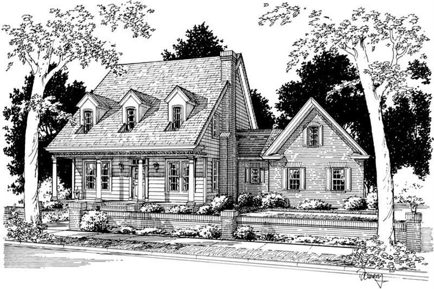 Main image for house plan # 5390