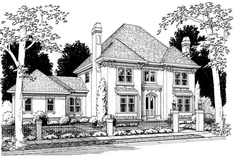 Main image for house plan # 5392