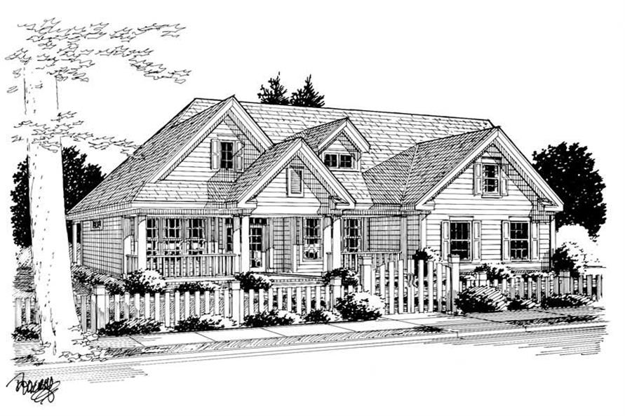 Main image for house plan # 5874