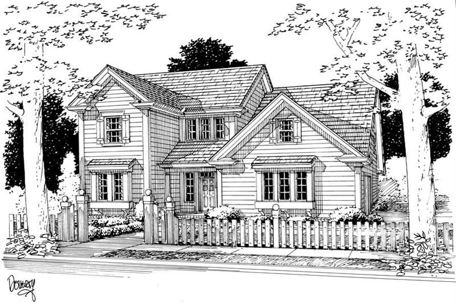 Main image for house plan # 5400