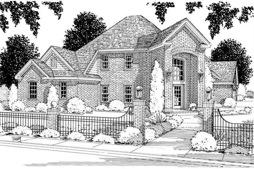 Main image for house plan # 5341
