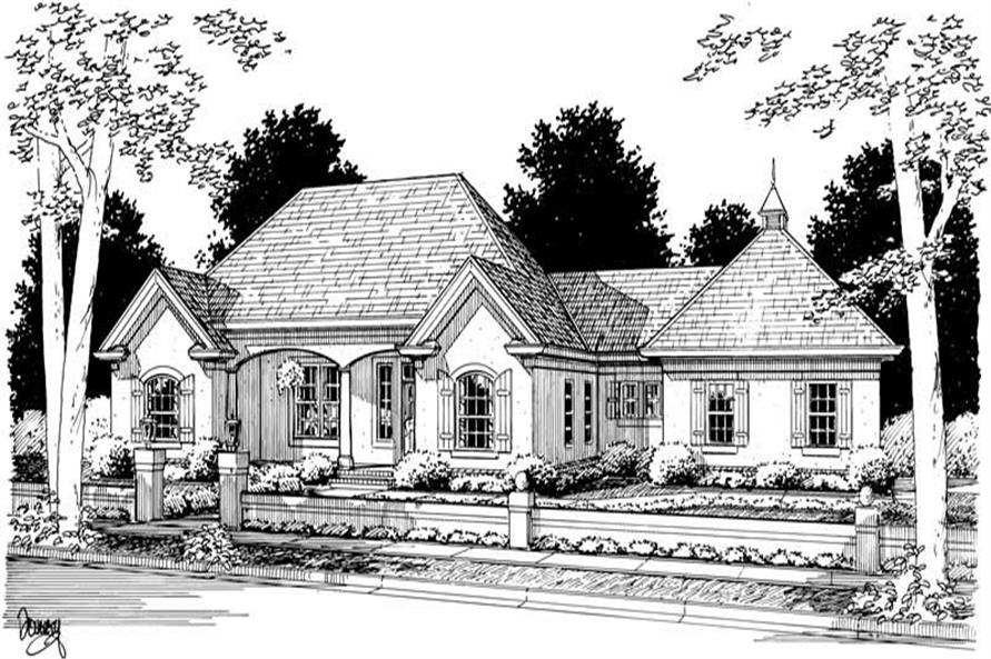 Main image for house plan # 5394