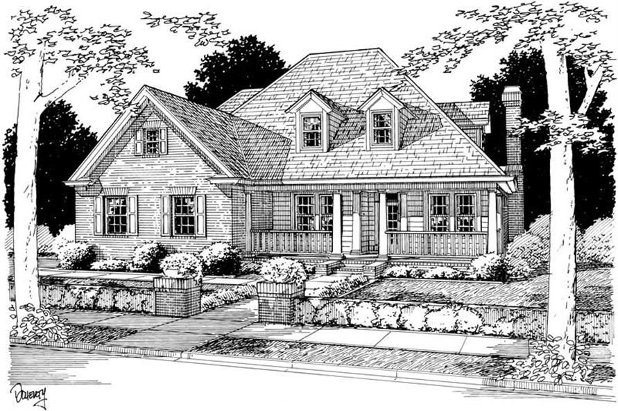 Main image for house plan # 5396