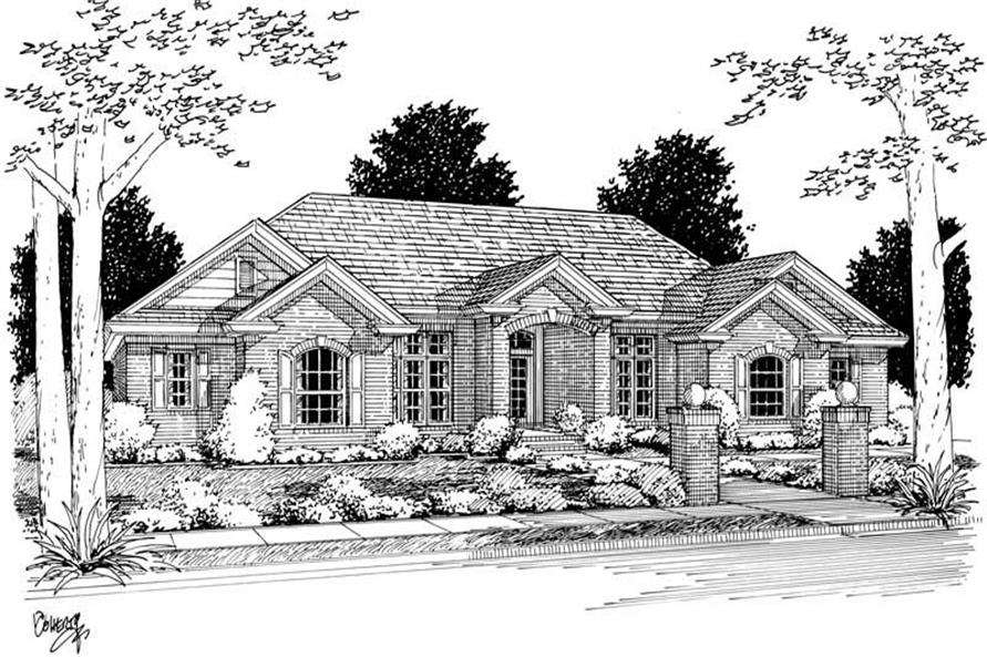 Main image for house plan # 5397