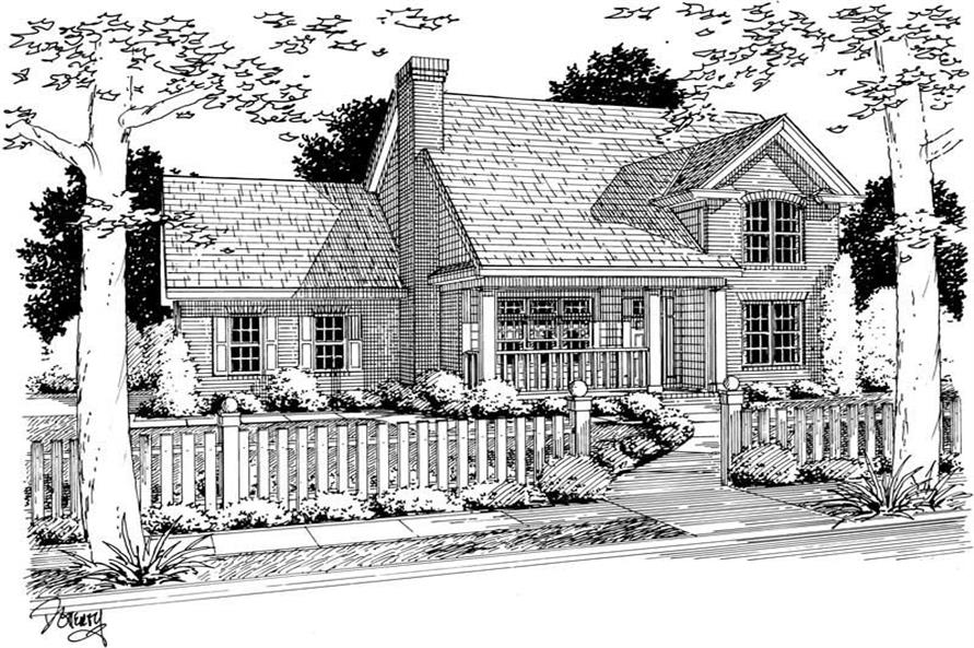 Main image for house plan # 5426