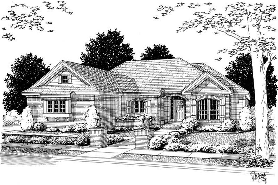 Main image for house plan # 5432