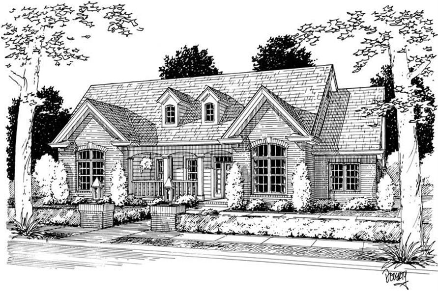 Main image for house plan # 5427