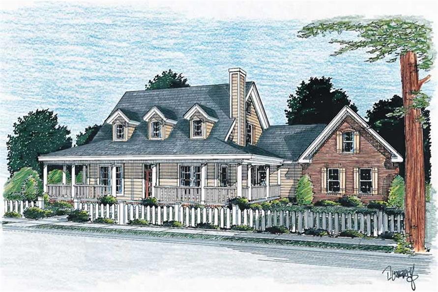 Main image for house plan # 5871