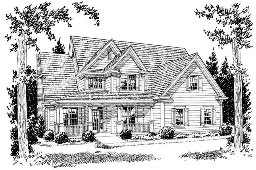 Main image for house plan # 5854