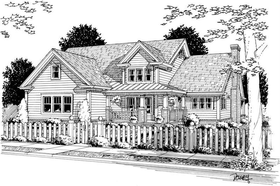 Main image for house plan # 5428