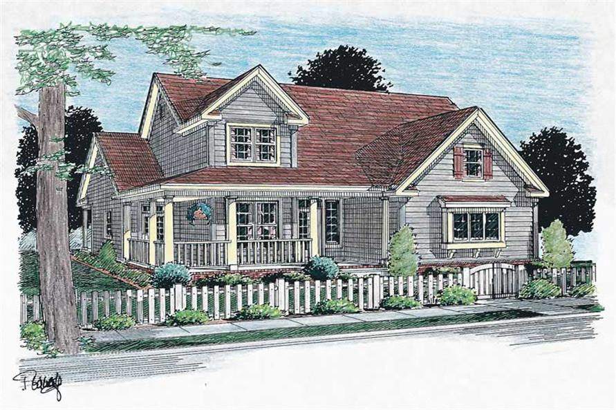 Main image for house plan # 5858