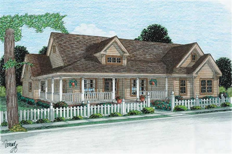 Main image for house plan # 5876