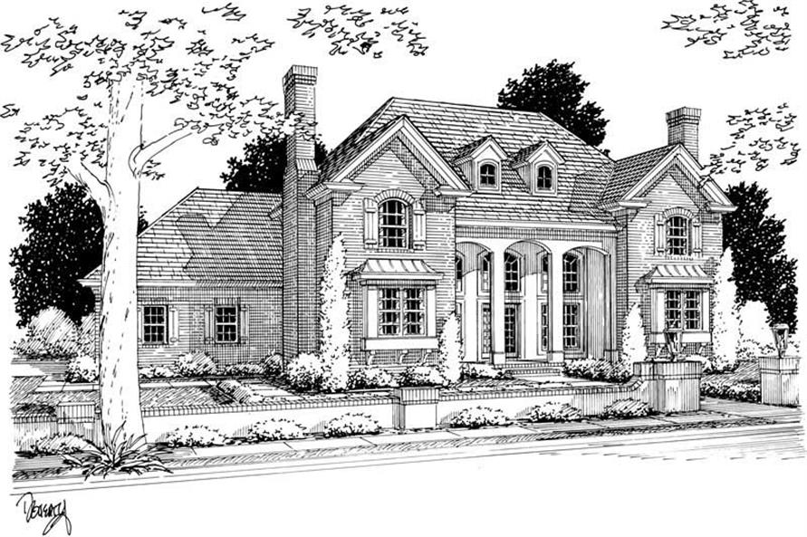 Main image for house plan # 5409