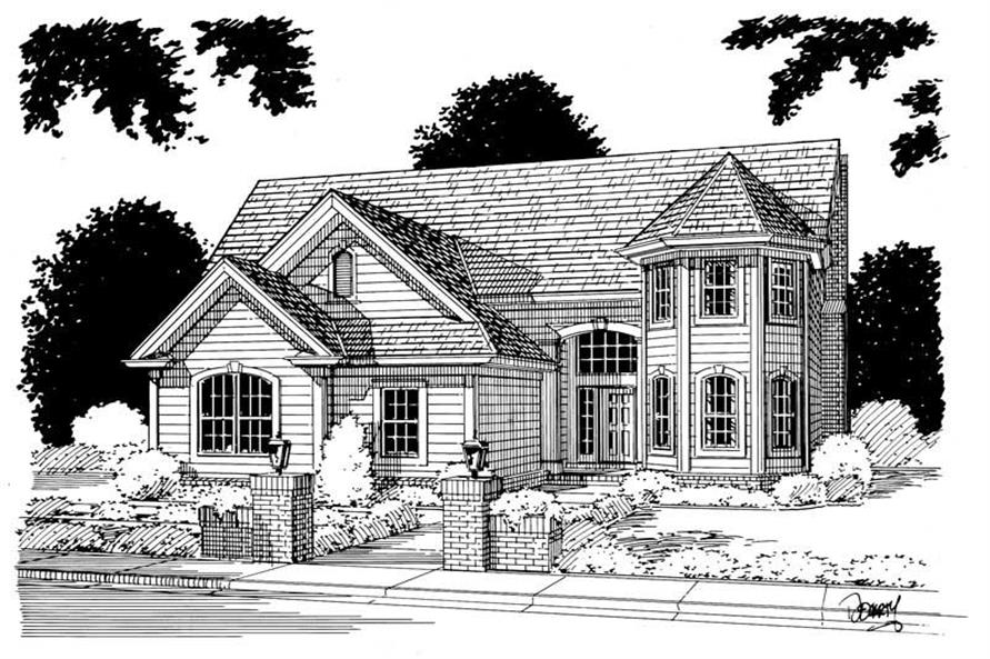Main image for house plan # 5376