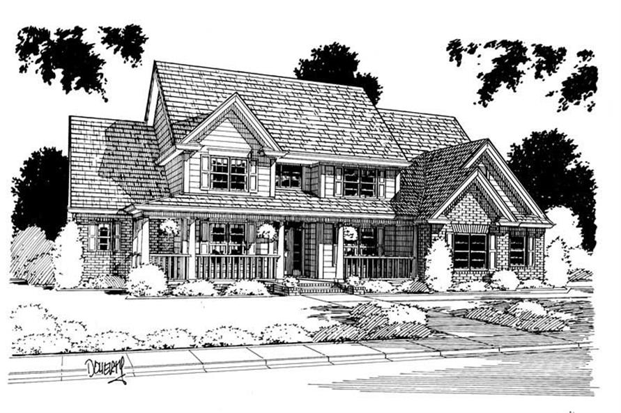 Main image for house plan # 5369