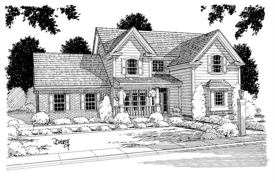 Main image for house plan # 5362