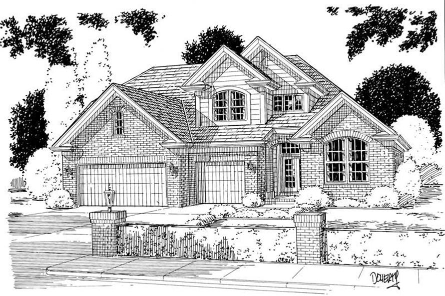 Main image for house plan # 5350