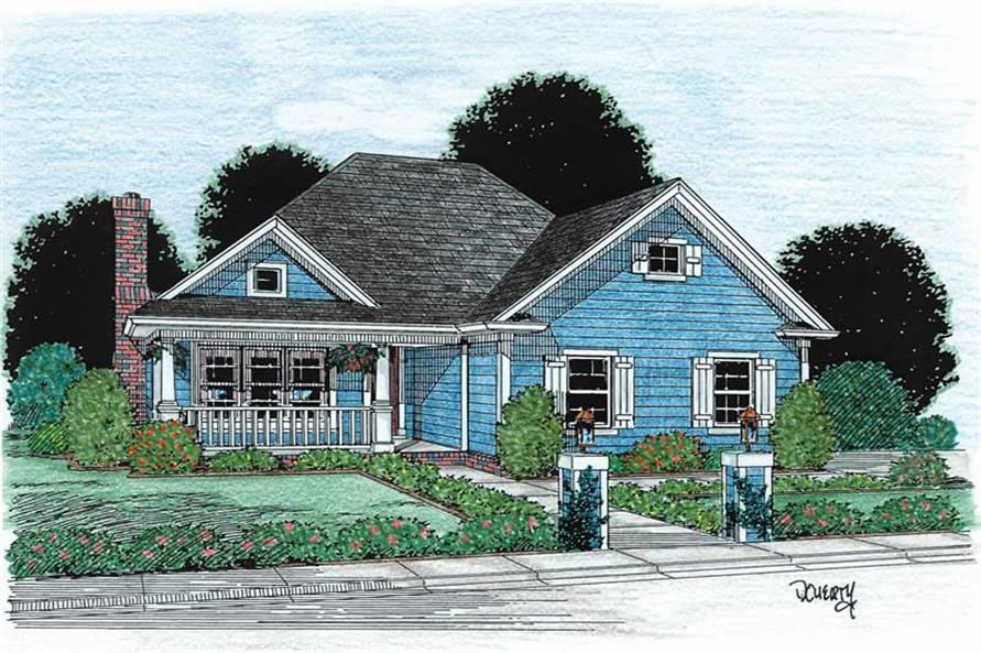 Main image for house plan # 5373