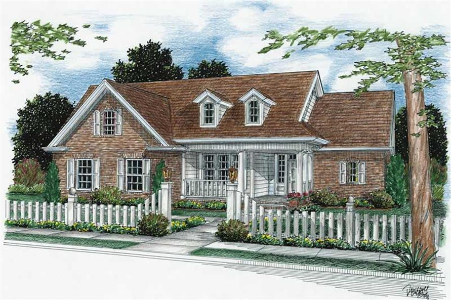 Main image for house plan # 5429