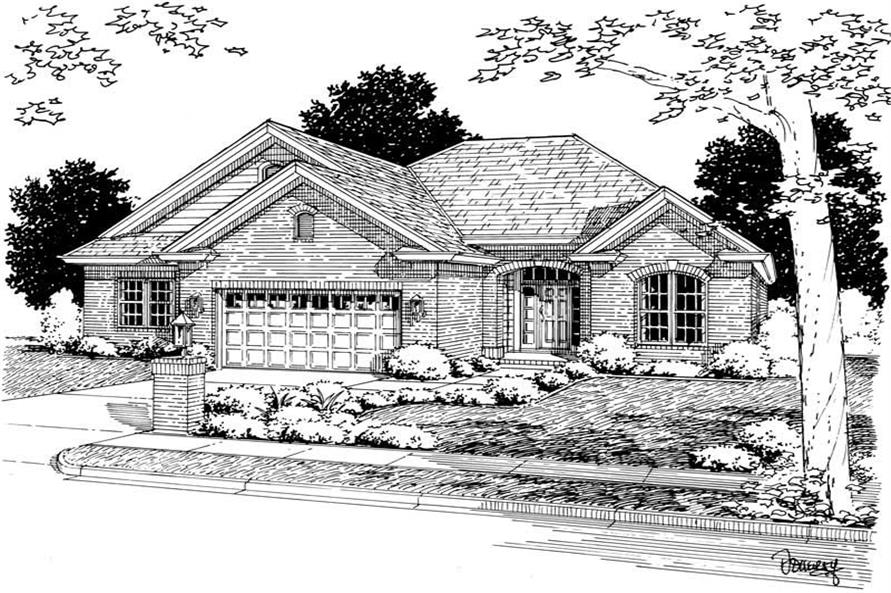 Main image for house plan # 5425